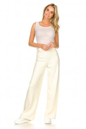 Lune Active | Flare pantalon Donna | naturel
