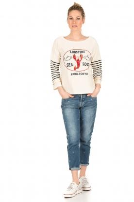 7 For All Mankind | Cropped boyfriend jeans Josefina | blauw