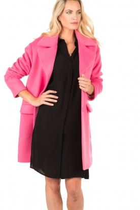 Coat Mimi | fuchsia