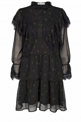 Sofie Schnoor |  Dress with lace details Penny | black