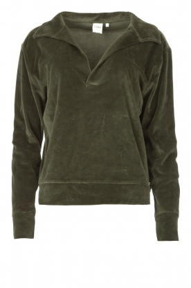 Lune Active |  Soft sweater Teddy | green