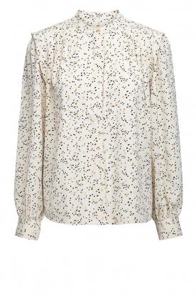 Sofie Schnoor |  Dotted blouse Malikka | white