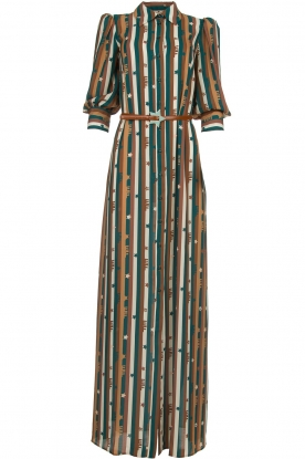 ELISABETTA FRANCHI |  Striped maxi dress Kelsi | multi