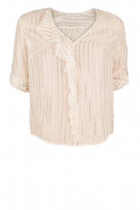Patrizia Pepe | Zijden blouse Mayla | wit