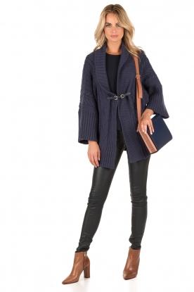Atos Lombardini | Vest Vanessa | blauw