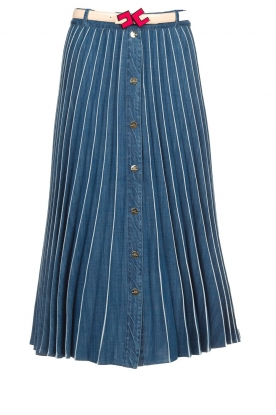ELISABETTA FRANCHI |  Denim skirt Franca | blue