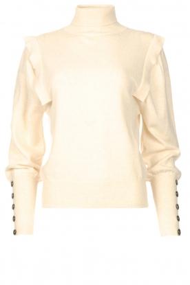 Be Pure | Coltrui met schouderdetails Dolly | beige