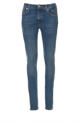 7 For All Mankind | Jeans with  rhinestones Slim | blue