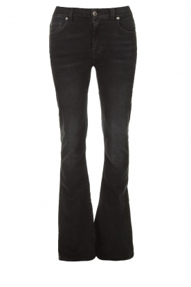 7 For All Mankind | Bootcut jeans Soho black