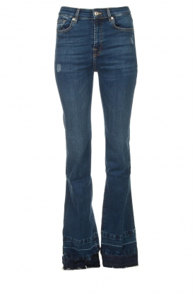 7 For All Mankind |  Wide flared jeans Lisha | blue