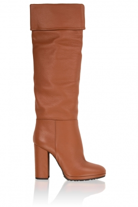 Leather boots Malika | brown