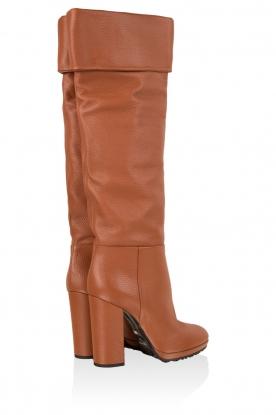 Leather boots Malika | brown
