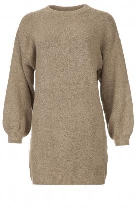 Be Pure | Gebreide jurk Micky | taupe