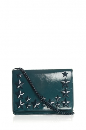 ELISABETTA FRANCHI |  Shoulder bag with studs Noel | green