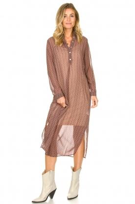 Look Printed maxi dress Emiliano
