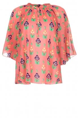 Antik Batik   Blouse Mia   roze