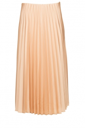 JC Sophie |Pleaded skirt Eddinburgh | nude