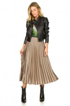 Look Pleaded skirt Eddinburgh
