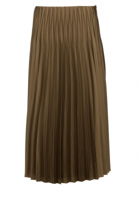 JC Sophie |Pleaded skirt Eddinburgh | green