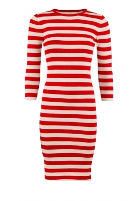 Dress Jolie 3/4 | red and white