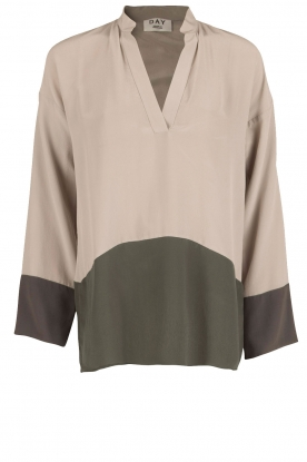 DAY Birger et Mikkelsen |  Silk top Refreshing | grey