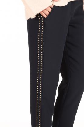 DAY Birger et Mikkelsen | Pantalon Classic Gabardine | donkerblauw