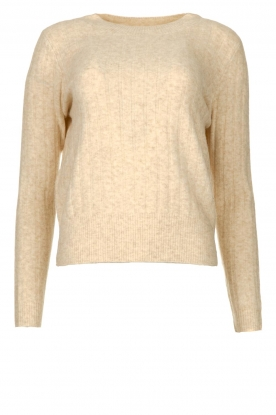 JC Sophie | Knitted sweater Estebana | beige