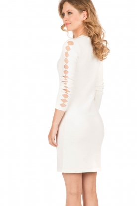 NIKKIE |  Fitted dress Jula | white