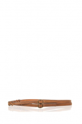 Antik Batik |  Belt Betty  brown