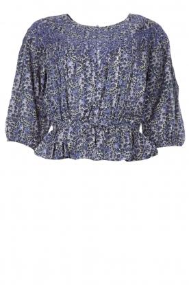 ba&sh |  Floral top Isaure | blue