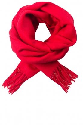 Sjaal Crystal  rood