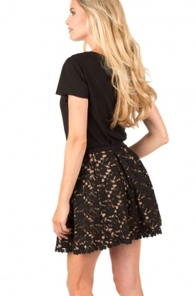 Lace skirt Livvy | black