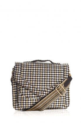 Becksöndergaard |  Shoulder bag with houndstooth print Mara | multi