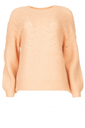 JC Sophie |Sweater with open details Estrella | natural