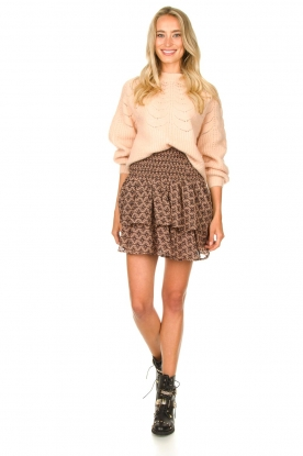 Look Sweater with open details Estrella