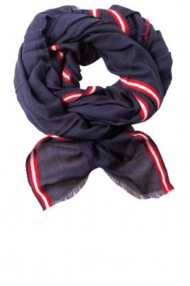 Sjaal Baja  blauw