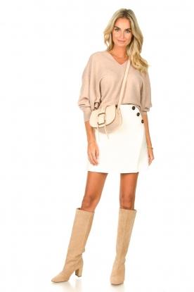 Look Skirt with button details Kara