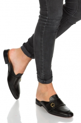 L'Autre Chose |  Slip on loafers Vina | Black