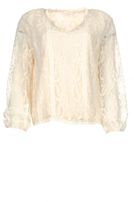 JC Sophie |Lace top Edina | natural