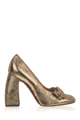 L'Autre Chose |  Metallic pumps Coco | gold