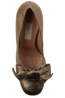 L'Autre Chose | Metallic pumps Coco | goud