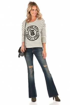 NIKKIE |  Sweater Over The Top | white/green