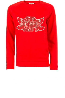 Sweater Me, Myself and I | red