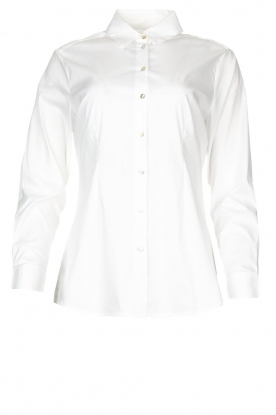 JC Sophie |  Stretch blouse Etsuko | white