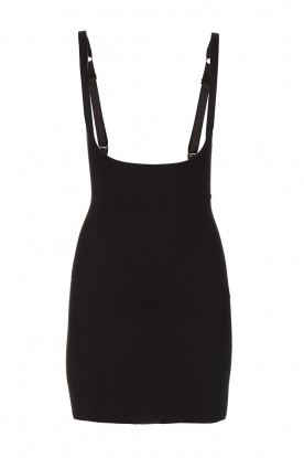 Magic Bodyfashion | Shaped slip dress Emily | black