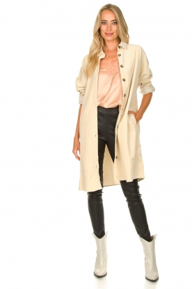 Look Ribbed coat Effie