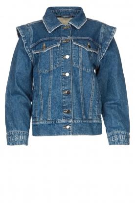Notes Du Nord |  Oversized denim jacket Venice | blue