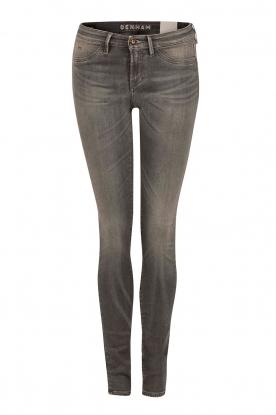 High waisted skinny jeans Spray Gars inseam 34 | grey