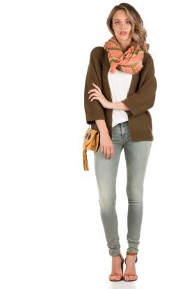 Denham | Mid rise Skinny jeans Sharp lengtemaat 32 | blauw