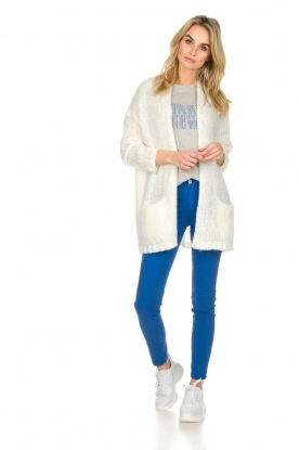 Kocca |  Coloured skinny jeans Sofie | blue